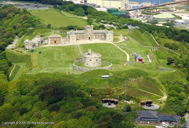 Falmouth United Kingdom  City new picture : Pendennis Castle, Falmouth, Cornwall, England, United Kingdom