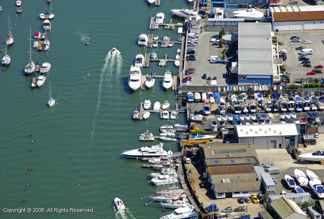 Poole United Kingdom  city pictures gallery : Poole Boat Park in Poole, Dorset, England, United Kingdom