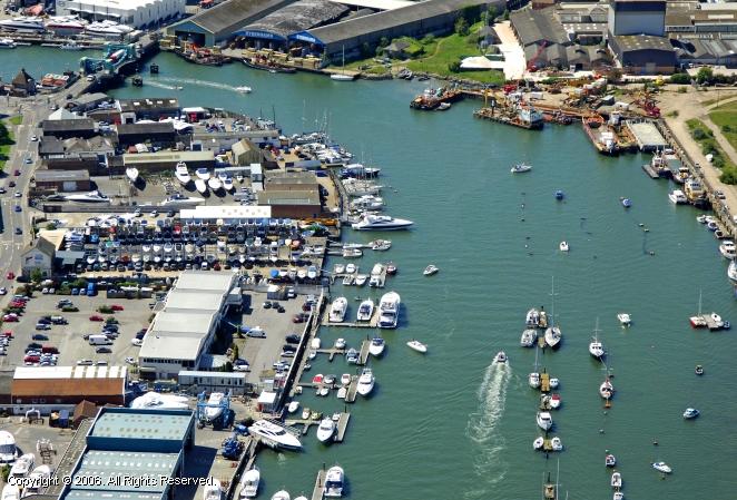 Poole United Kingdom  city images : Poole Boat Park in Poole, Dorset, England, United Kingdom