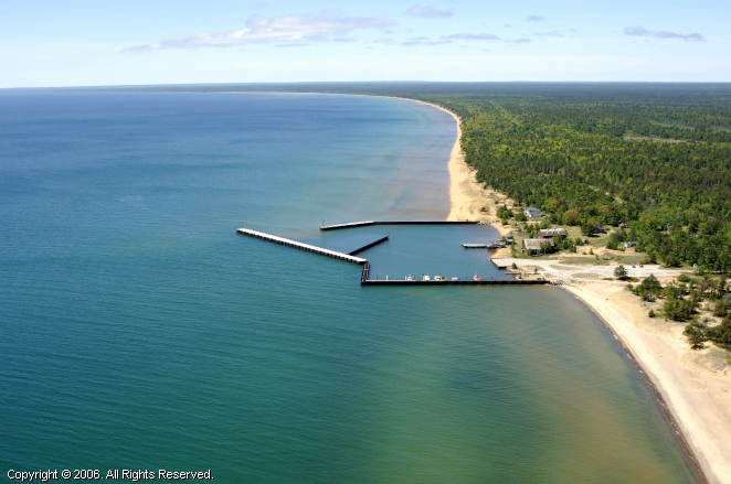 Whitefish point state docks in whitefish point michigan for White fish point