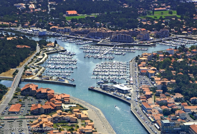Capbreton France  city photo : Capbreton Marina, France