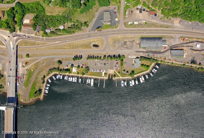Houghton (MI) United States  city photos gallery : Houghton County Marina in Hancock, Michigan, United States