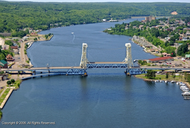Houghton (MI) United States  city pictures gallery : Portage Lift Bridge, Houghton, Michigan, United States