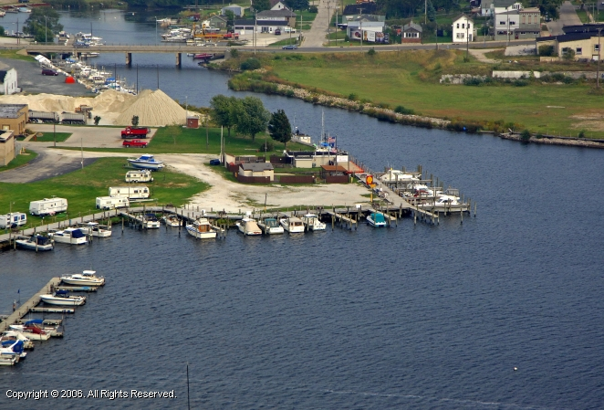 Ludington (MI) United States  city pictures gallery : Thompson Marina in Ludington, Michigan, United States