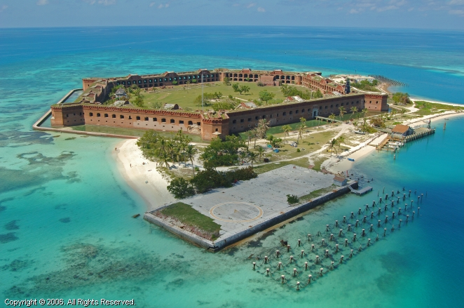 Fort jefferson dry tortugas florida united states