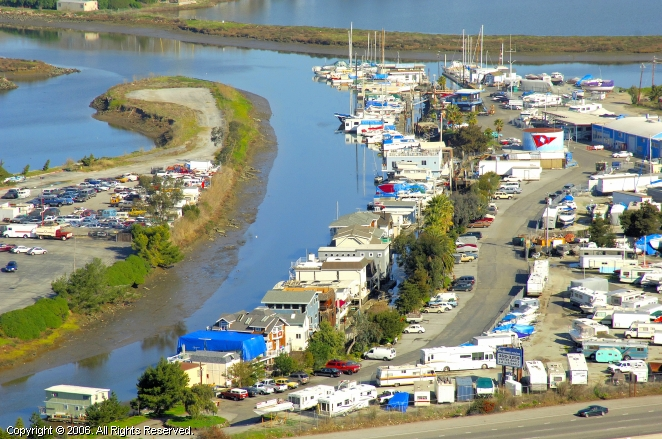 California City (CA) United States  city photo : Docktown Marina in Redwood City, California, United States