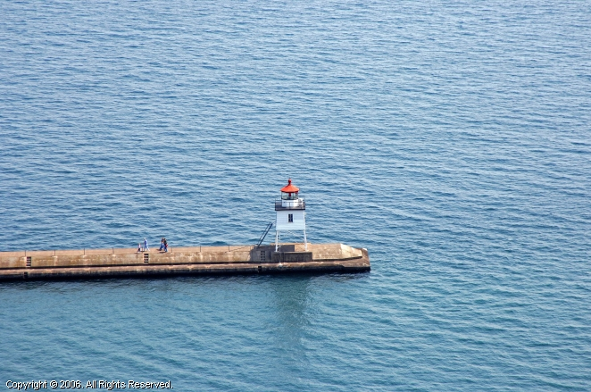 Two Harbors Breakwater Lighthouse