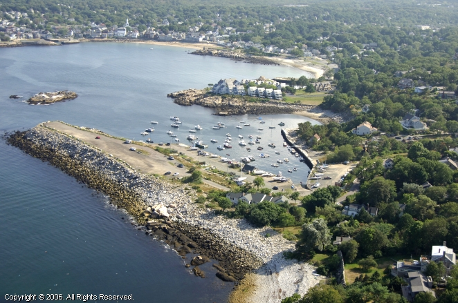 Granite Pier Ramp In Rockport Massachusetts United States