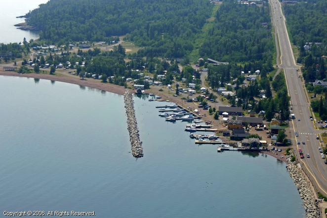 Grand Marais (MN) United States  city pictures gallery : ... Recreation Area Marina in Grand Marais, Minnesota, United States
