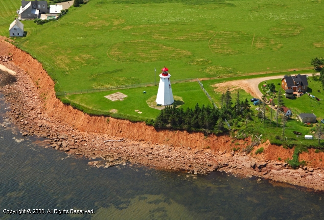 Panmure Island Light (Panmure Head Light)