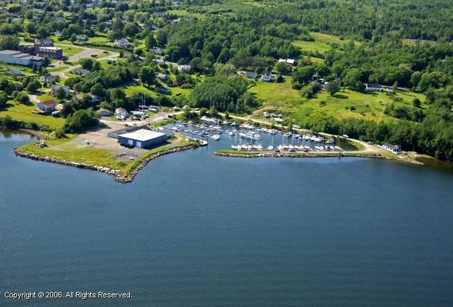 Pictou Yacht Club In Pictou Nova Scotia Canada