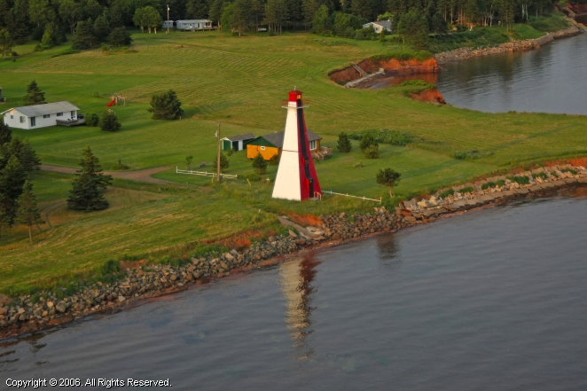 Hazzard Range Point Front Lighthouse
