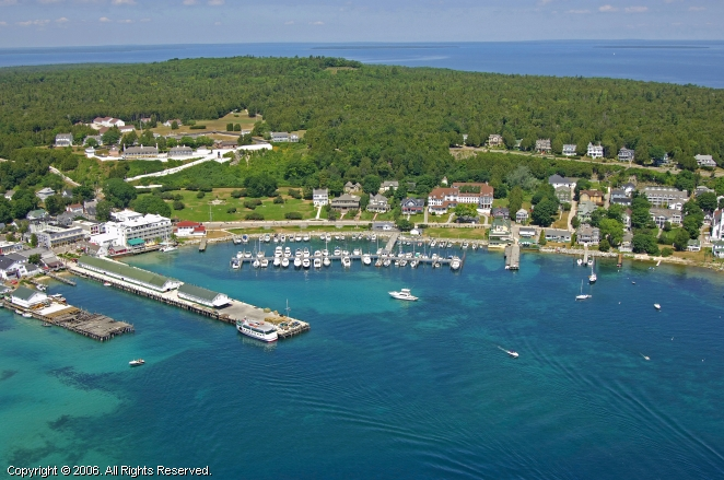 Download this Mackinac Island State Dock picture