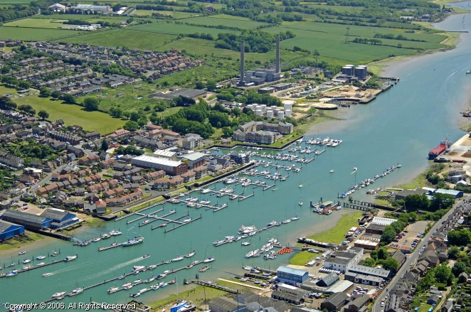 Cowes United Kingdom  City new picture : ... Cowes Marina in East Cowes, Isle of Wight, England, United Kingdom
