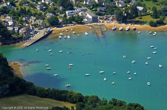 La Richardais France  city photo : Port of La Richardais Marina in Brittany, France