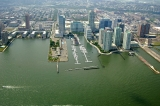 aerial imagery of Newport Yacht Club & Marina Jersey City NJ US