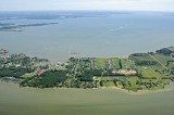 aerial imagery of Tilghman-On-Chesapeake Tilghman Island MD US