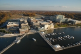 aerial imagery of National Harbor Marina Oxon Hill MD US