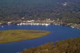 aerial imagery of The Best of Savannah - Isle Of Hope Marina  Savannah GA US