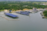 aerial imagery of Lake Country Marina Fort Worth TX US