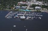 aerial imagery of Regatta Pointe Marina Palmetto FL US