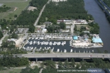 aerial imagery of Homeport Marina Gulf Shores AL US
