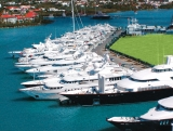 aerial imagery of The Yacht Club at Isle De Sol  St Maarten, Dutch Caribbean AN