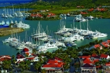 aerial imagery of Simpson Bay Marina Philipsburg St. Maarten NA AN