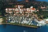 aerial imagery of Marina Puerto de la Navidad Isla Navidad Colima  MX