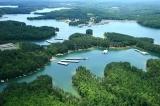 aerial imagery of Glade Marina Acworth GA US