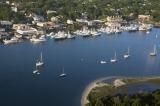 aerial imagery of Beaufort Docks Beaufort NC US