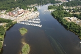 aerial imagery of Norwest Marine, Pawcatuck Pawcatuck CT US