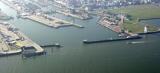 Cuxhaven Port Inlet