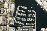 aerial imagery of Harborage Marina  St Petersburg FL US