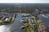 aerial imagery of Aquamarina Daytona Beach Daytona Beach FL US