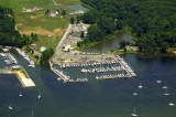 aerial imagery of Bohemia Vista Marina Chesapeake City MD US