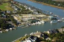 aerial imagery of Isle of Palms Marina Isle Of Palms SC US