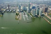 aerial imagery of Newport Yacht Club & Marina Jersey City NJ US