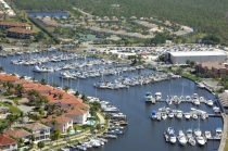 aerial imagery of Burnt Store Marina Punta Gorda FL US