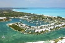 aerial imagery of Treasure Cay Resort, Marina & Golf Course Treasure Cay AB BS