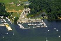 aerial imagery of Brewer Bohemia Vista Marina Chesapeake City MD US