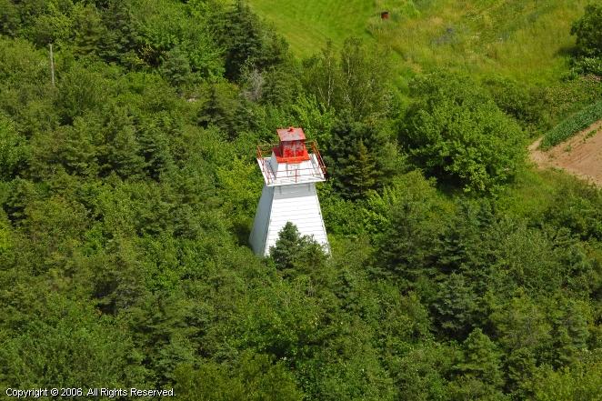 Havre Boucher Rear Range Lighthouse