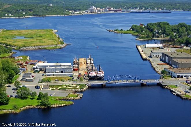 Liverpool (NS) Canada  city images : Mersey Seafoods Ltd in Liverpool, Nova Scotia, Canada