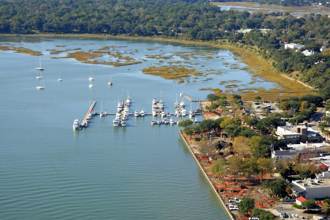 Beaufort (SC) United States  city photos : Downtown Marina of Beaufort in Beaufort, South Carolina, United States