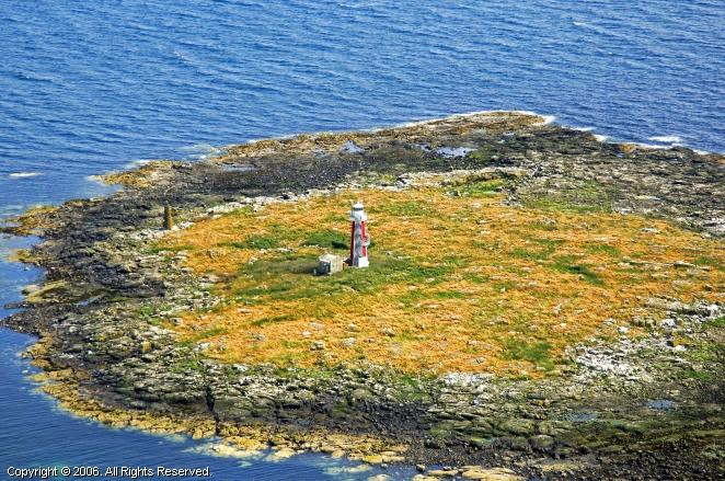 Troon United Kingdom  city images : Lady Isle Lighthouse, Troon, Scotland, United Kingdom