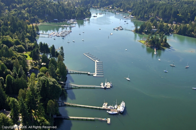 Seattle Yacht Club Port Madison Outstation
