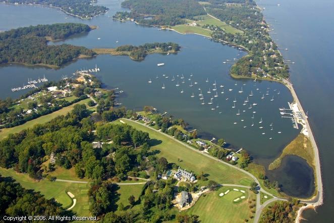 Gibson Island Maryland Map