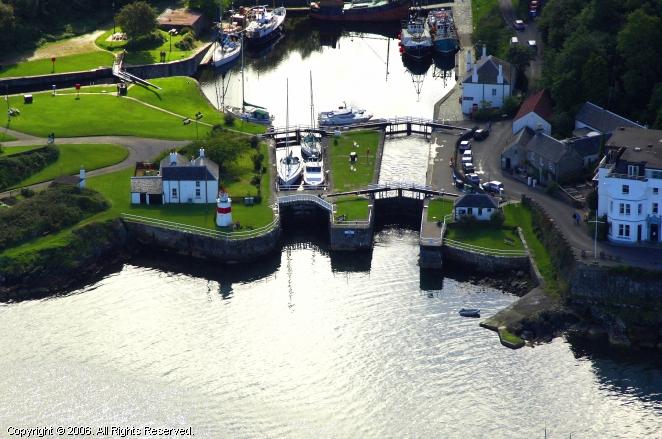 Crinan Canal Sea Lock