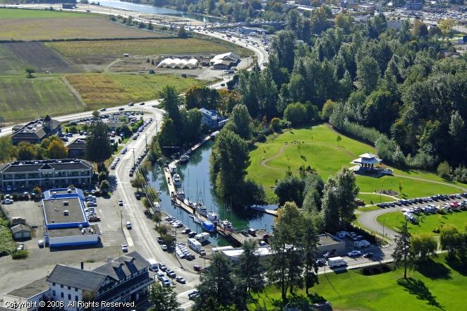 Courtenay (BC) Canada  city photos : Courtenay Slough Marina in Comox, British Columbia, Canada