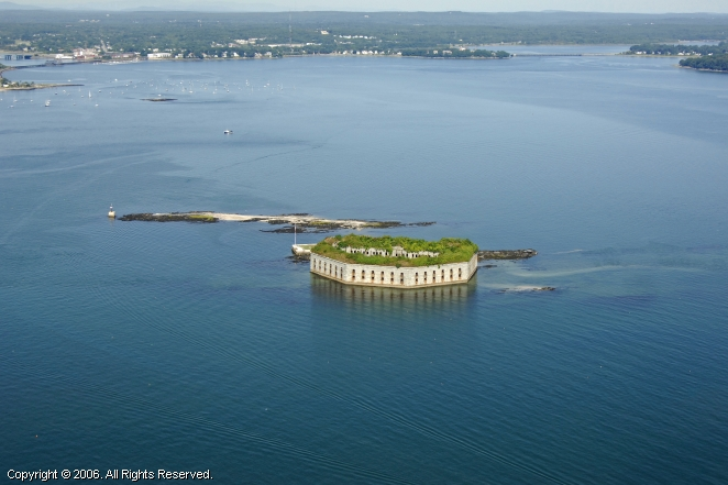 Fort Gorges, Portland, Maine, United States
